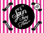 Spun gourmet all natural fairy floss